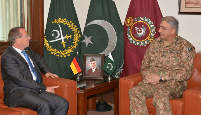 German envoy calls on COAS, discusses affairs of mutual interest