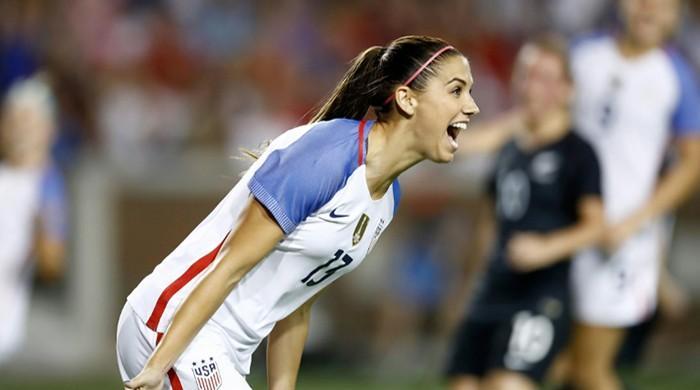 Alex Morgan at the double as USA women thrash New Zealand