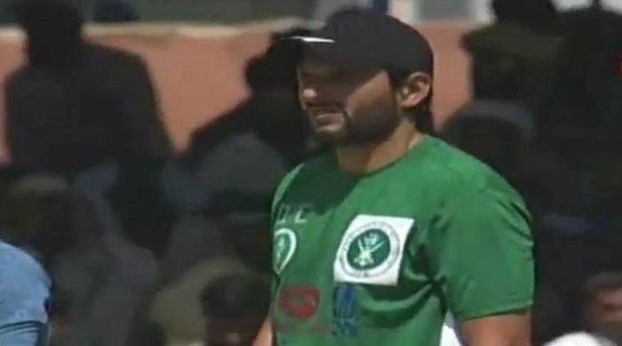 Cricket for peace: Afridi shines as Pakistan XI beat UK XI by 133 runs