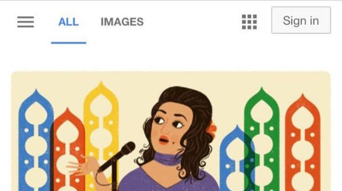 Google pays tribute to Noor Jehan on 91st birth anniversary