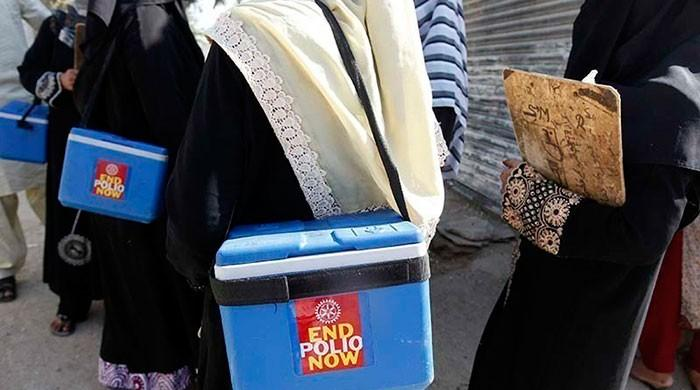 Two-year-old contracts polio in KP in year's fifth case