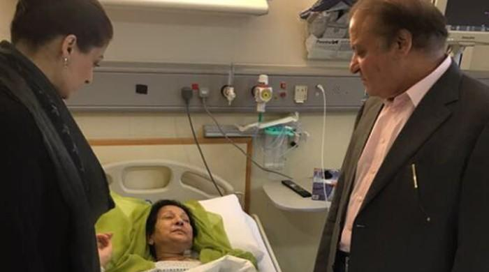 Begum Kulsoom discharged from ICU: Maryam