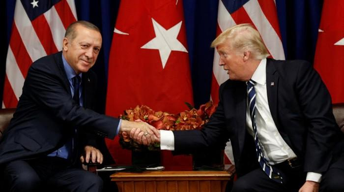 Trump praises Turkey's Erdogan as a friend