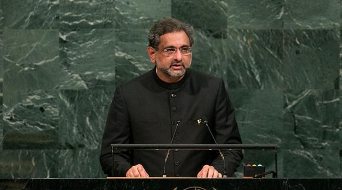 Pakistan 'not prepared to be anyone's scapegoat': PM Abbasi to UN