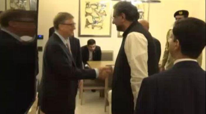 Bill Gates calls on PM, appreciates Pakistan's campaign to end polio