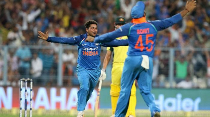 Yadav hat-trick gives India big win in 2nd ODI