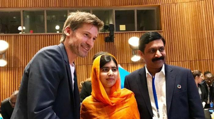 Malala thanks GoT star for speaking about violence against women