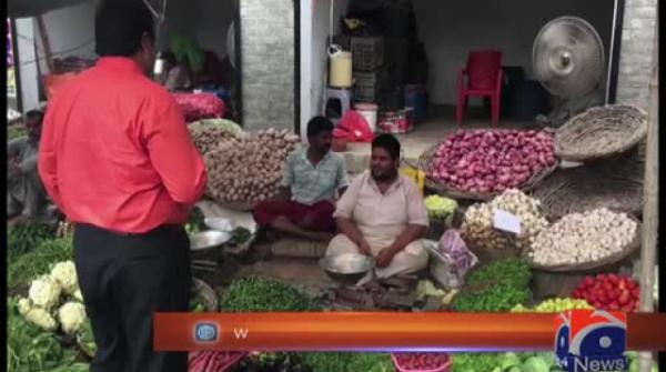 Tomato prices on rise in Lahore