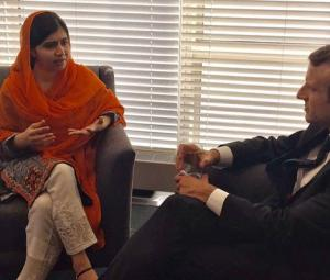 Malala meets world leaders at UNGA to discuss girls' education