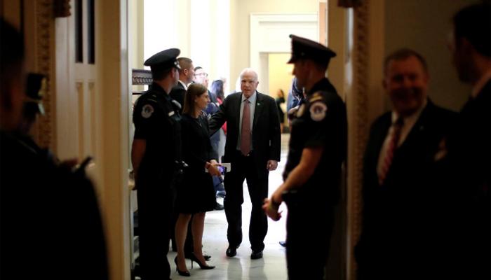 McCain Opposes Graham-Cassidy Health-Care Bill