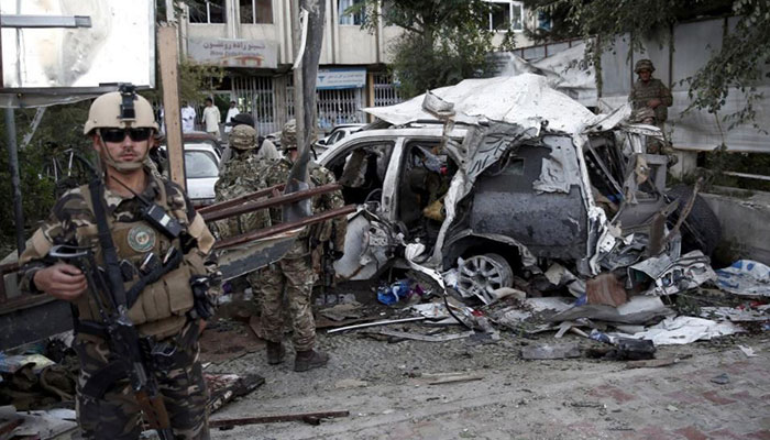 Bomber targets North Atlantic Treaty Organisation convoy in Kabul, Afghanistan, wounds at least 3