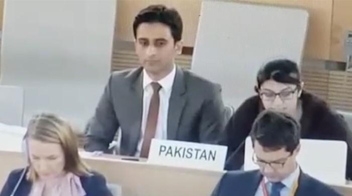 Pakistani diplomat highlights India's disgraceful policies against women at UNHRC