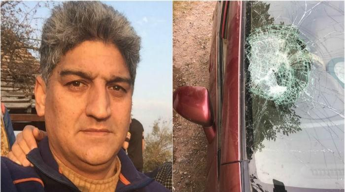 Journalist Matiullah Jan's vehicle attacked near Islamabad