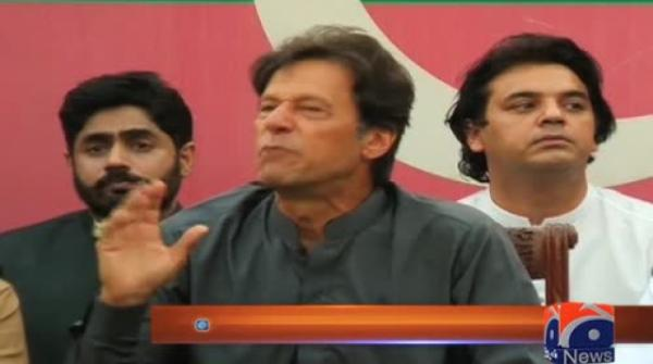 Imran calls for early elections in Pakistan