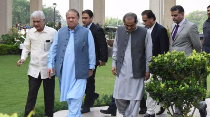Nawaz returns to Pakistan, to appear in accountability court tomorrow