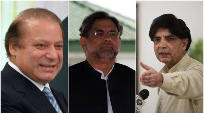 Nawaz holds meetings with PM Abbasi, Nisar