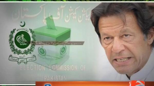 ECP reserves verdict in contempt case against Imran