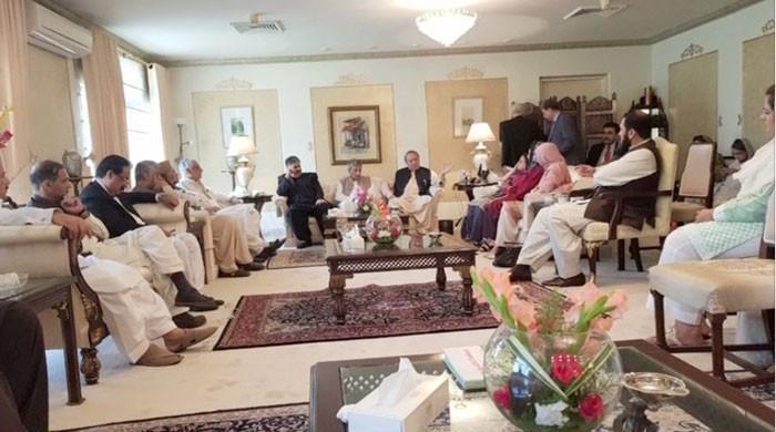 We believe in implementation of law, Nawaz tells party leaders