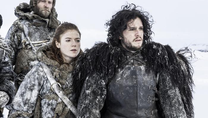 Game Of Thrones Lovebirds Kit Harington Rose Leslie Finally