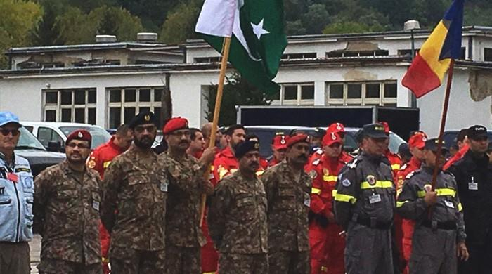 Pakistan joins NATO-led disaster & relief exercise in Bosnia and Herzegovina