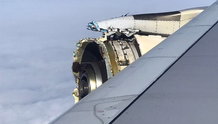 Plane Headed to LAX Makes Emergency Landing in Newfoundland After Engine Damage