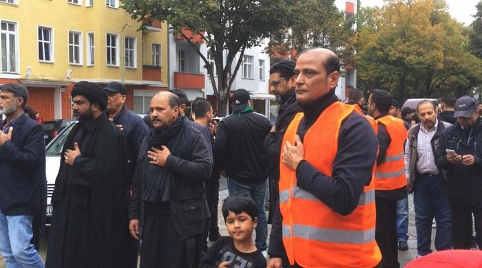 Muslims in Germany observe peaceful Youm-e-Ashura