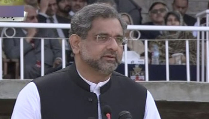 PM Abbasi visits alma mater in Murree, reminisces about youth days