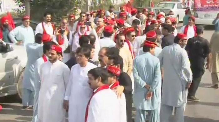 PM Abbasi calls FATA MNAs for talks as protesters gather near D-Chowk: sources
