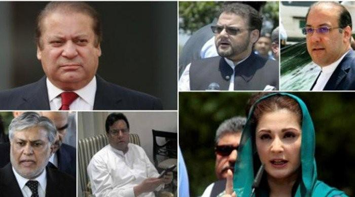 Sharifs embark on four-pronged strategy to face NAB trial