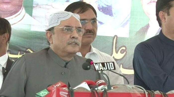 PTI claims of making a new Pakistan, but have not worked on a single village: Zardari