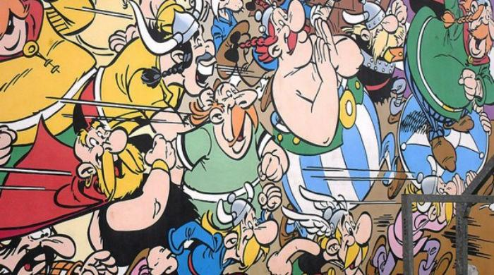 Asterix illustration sells for record 1.4 million euros