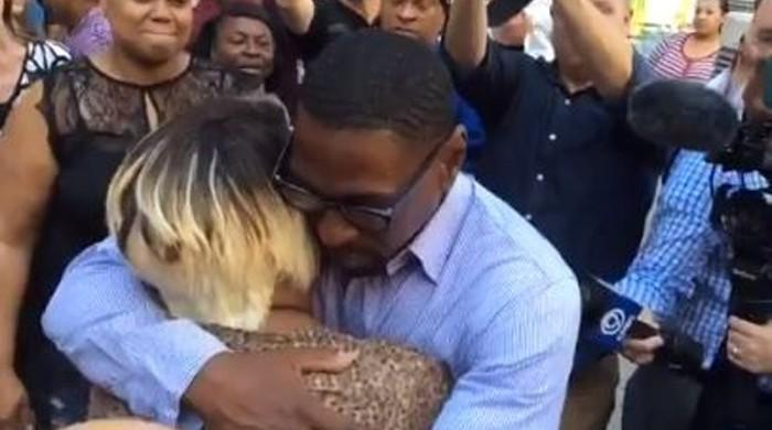 Wrongly convicted US man freed after 23 years in prison