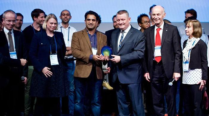 Pakistani tech startup wins World Health Summit competition