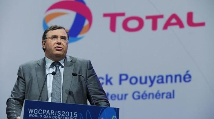 Total's CEO says will try to move ahead with Iran gas project