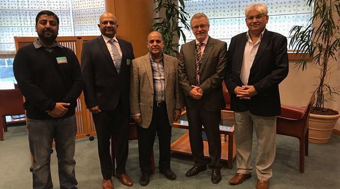 Pride of Democracy International delegation meets MEPs