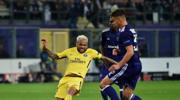 Terrific trio on target as PSG thump Anderlecht