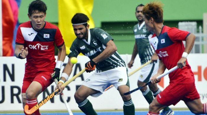 Pakistan draw match with South Korea in Asia Cup 2017
