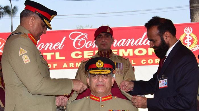 Army chief commends role of medical corps in saving lives: ISPR