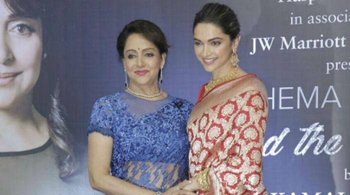 'Dream Girl' Hema Malini passes on her title to Deepika