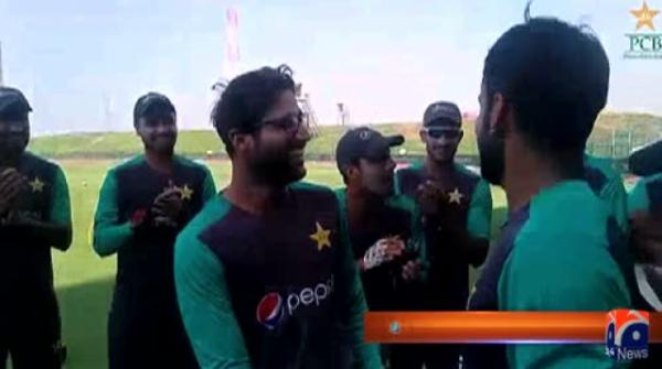 Hafeez presents ODI cap to debutant Imam