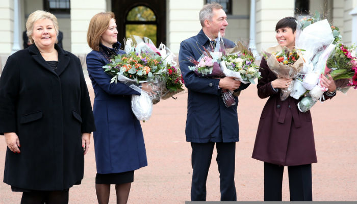 Women take 'top three spots' in Norway govt
