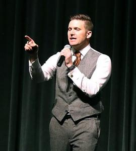 White nationalist Richard Spencer heckled at speech in Florida