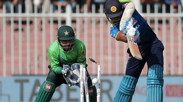 Shinwari strikes on debut; Sri Lanka top order collapses