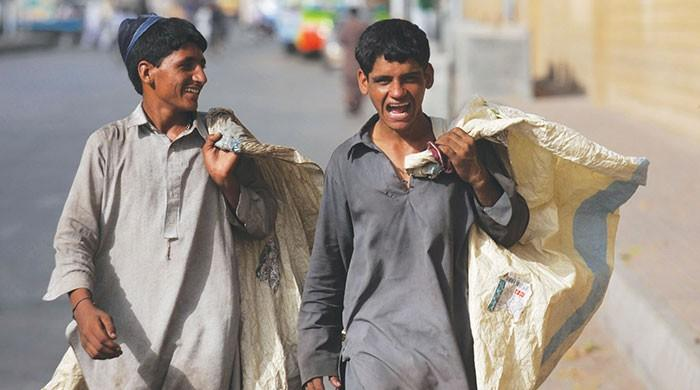 Karachi's scavengers: The faceless, nameless recycling heroes