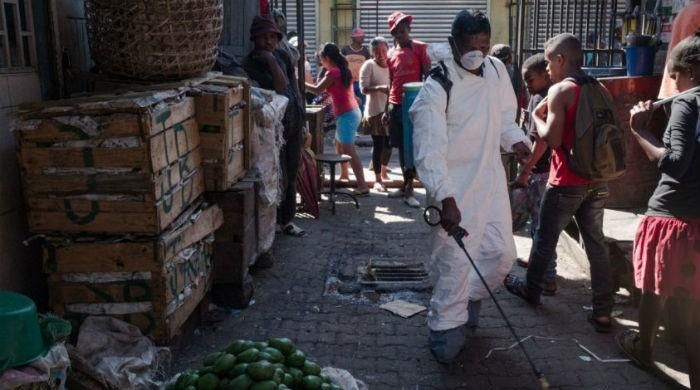 Madagascar plague deaths hit 94, 1,100 suspected cases: WHO