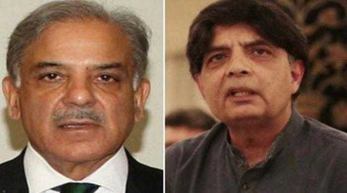 Shehbaz Sharif, Chaudhry Nisar review country's political situation