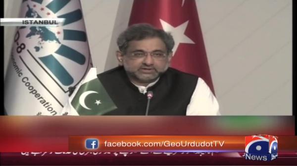 PM Abbasi seeks enhanced trade, economic ties with D-8 member states