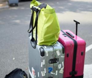 Thief in a suitcase robs bus baggage in Paris