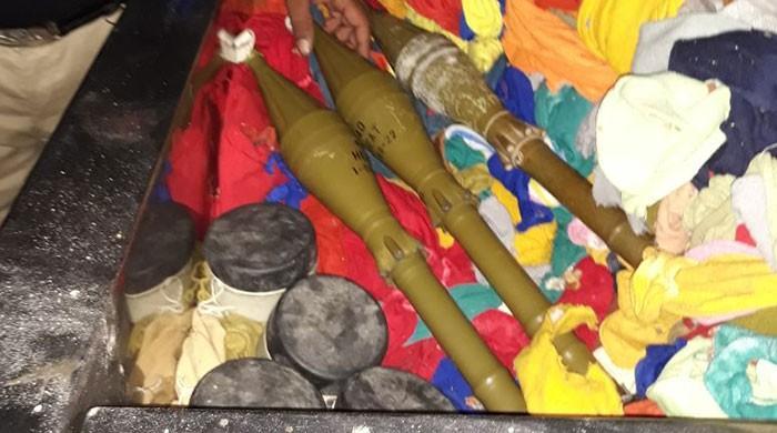 Police seize rockets, explosives from TTP terrorists in Karachi