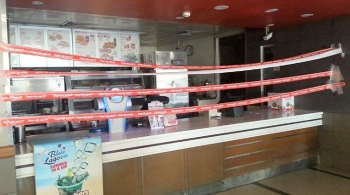 PFA fines, seals fast food joints along motorway